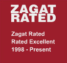 Lotus is Zagat rated