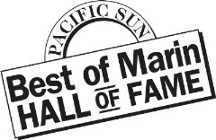 Pacific Sun Best of Marin Hall of Fame