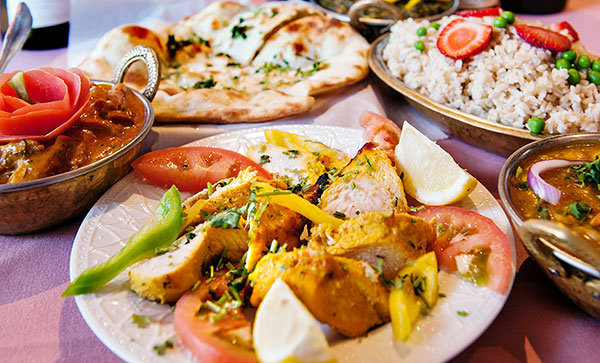 Gluten free and organic Indian food
