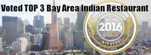 Top 3 Best Indian restaurant   Lotus voted TOP 3 Bay Area Indian Restaurant at Bay Area A-List   voted number 3