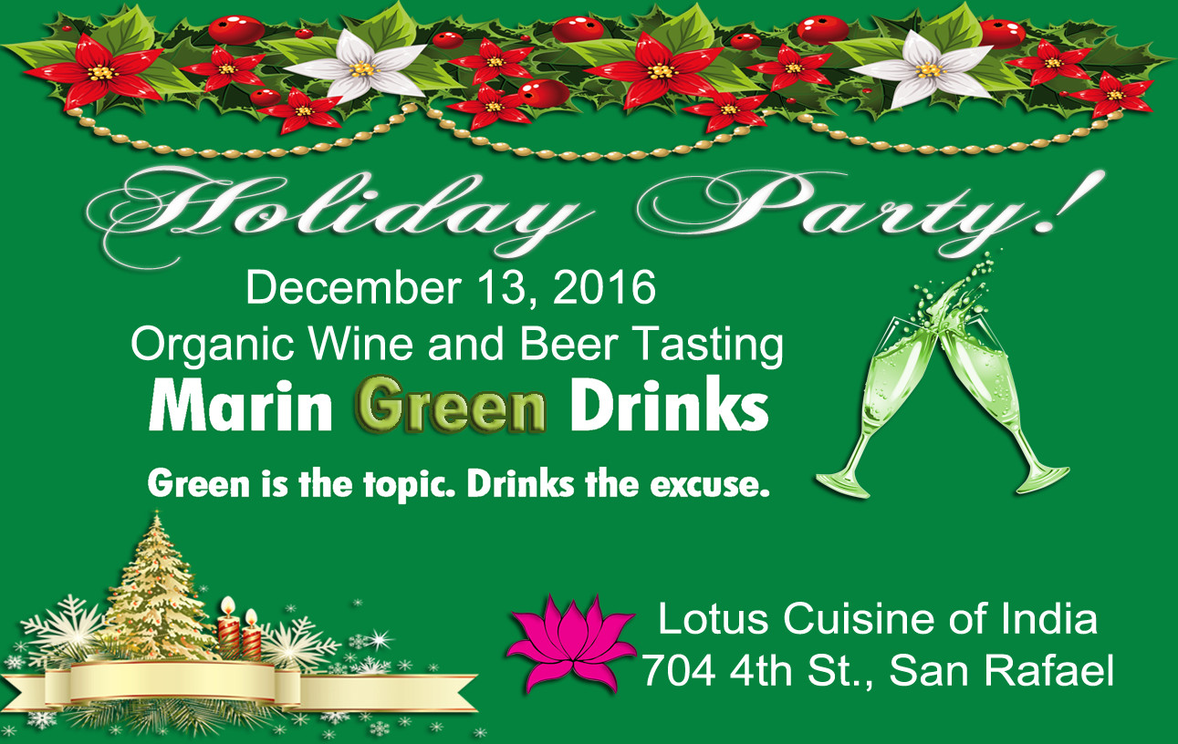 Marin Green Drinks Holiday Party