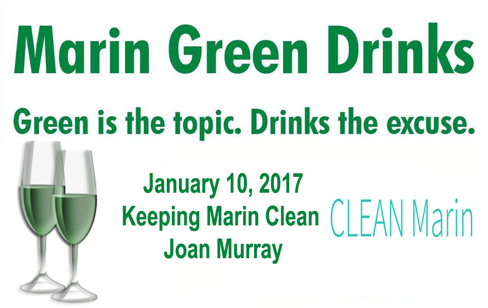 Marin Green Drinks on January 10