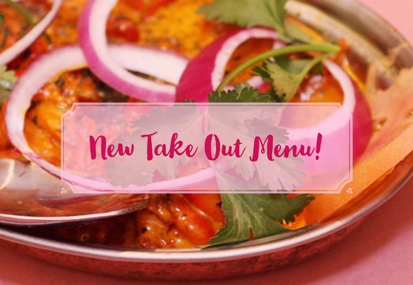 Lotus Cuisine of India's New Take Out Menu!
