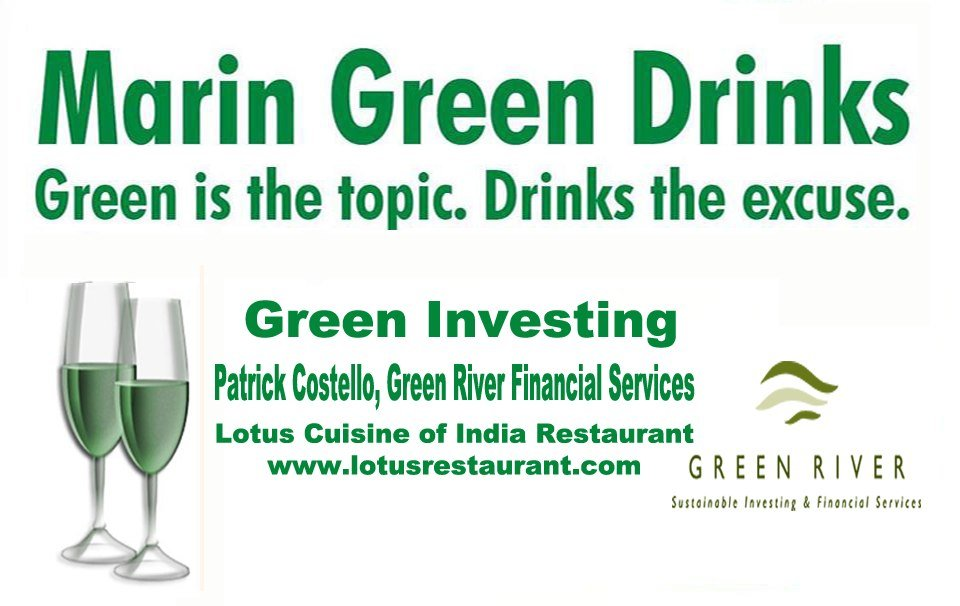 Marin Green Drinks on March 14