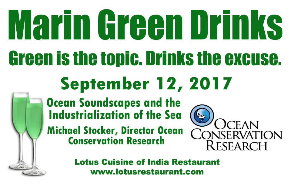 September 12 Marin Green Drinks business mixer Marin Green Drinks Business Mixer MGD