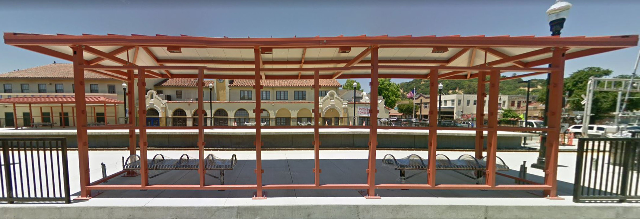 San Rafael Station smart train SMART Train Is Now Available San Rafael Station 1