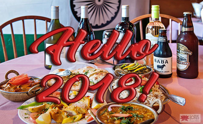 New Year at Lotus Cuisine of India new year New Year at Lotus Cuisine of India Hello 2018