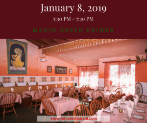 January 2019 Marin Green Drinks
