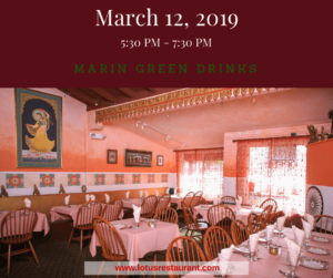 March 12, 2019 Marin Green Drinks