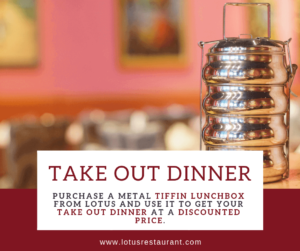 Tiffin Takeout Dinner