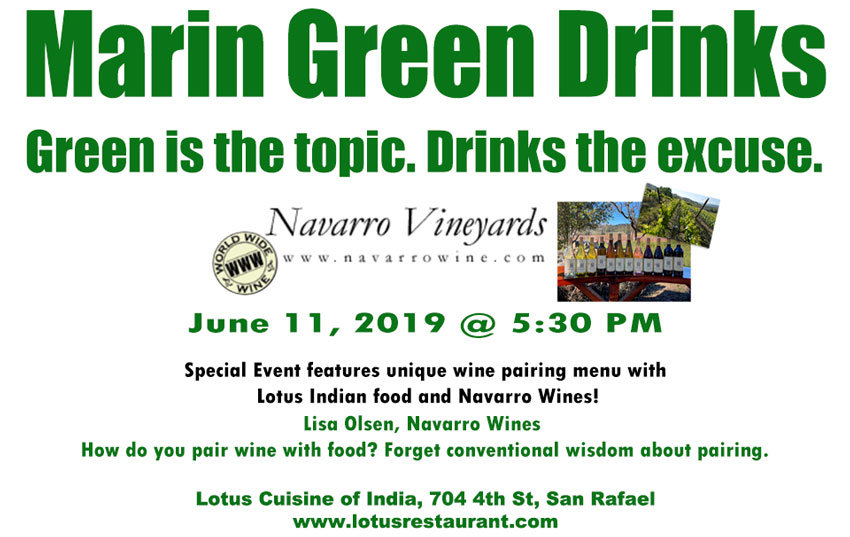 First Wine Pairing Event At Marin Green Drinks Indian Restaurant Lotus Cuisine Of India San Rafael Marin County