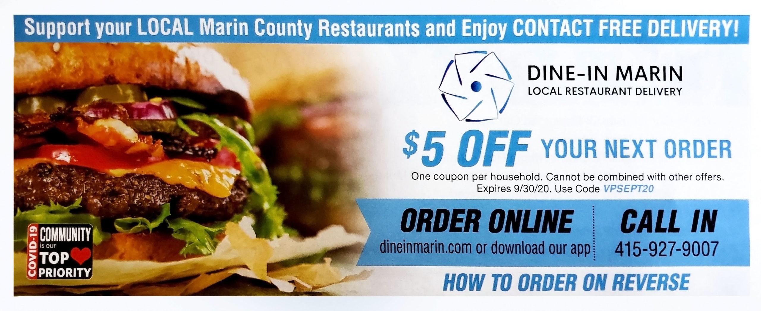 Dine-In Marin - Support Local Restaurants