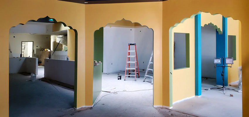 Lotus Cuisine of India is Moving - New Lotus Under Construction