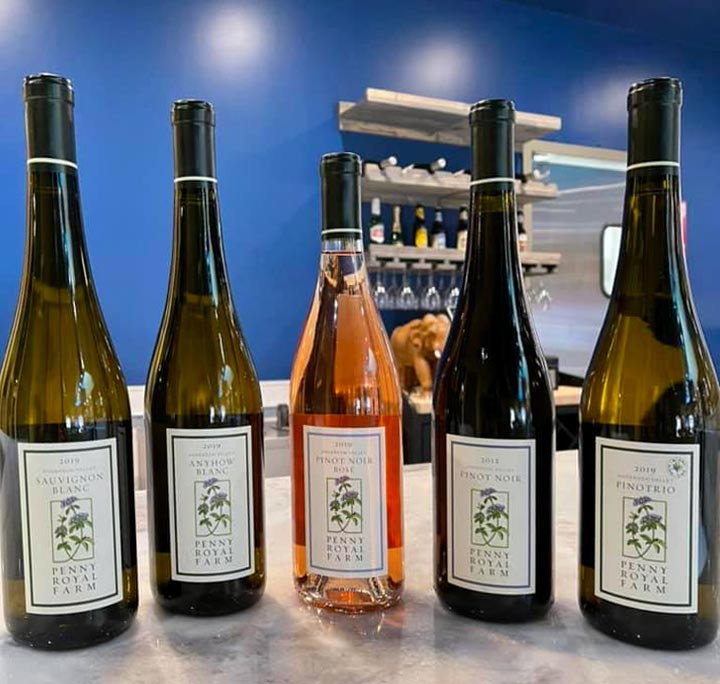 Lotus Cuisine of India - New Wine Collection - Wines - 5 bottles of Penny Royal Wine.