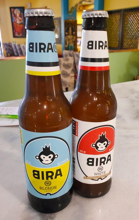 Lotus Cuisine of India - New Wine and Beer Menu - Bira Beers